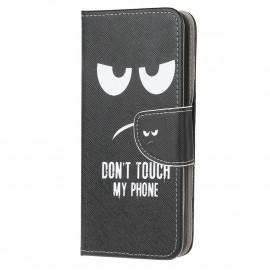 Book Case Motorola Moto G10 / G20 / G30 Hoesje - Don't Touch