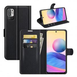 Book Case Xiaomi Redmi Note 10 5G Hoesje - Zwart