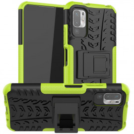 Rugged Kickstand Xiaomi Redmi Note 10 5G Hoesje - Groen