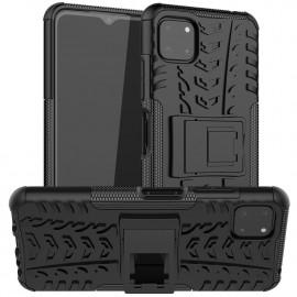 Rugged Kickstand Samsung Galaxy A22 5G Hoesje - Zwart