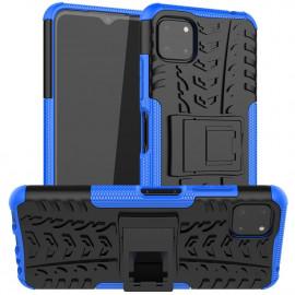 Rugged Kickstand Samsung Galaxy A22 5G Hoesje - Blauw