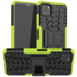 Rugged Kickstand Samsung Galaxy A22 5G Hoesje - Groen