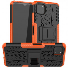 Rugged Kickstand Samsung Galaxy A22 5G Hoesje - Oranje