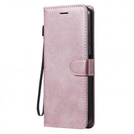 Book Case Samsung Galaxy A22 5G Hoesje - Rose Gold