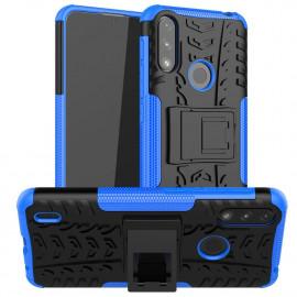 Rugged Kickstand Motorola Moto E7i Power Hoesje - Blauw