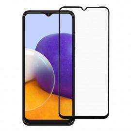 Tempered Glass Samsung Galaxy A22 5G - Zwart