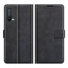 Book Case Deluxe OnePlus Nord CE 5G Hoesje - Zwart