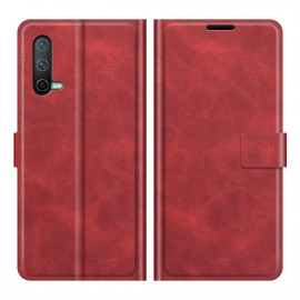 Book Case Deluxe OnePlus Nord CE 5G Hoesje - Rood