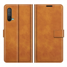 Book Case Deluxe OnePlus Nord CE 5G Hoesje - Bruin
