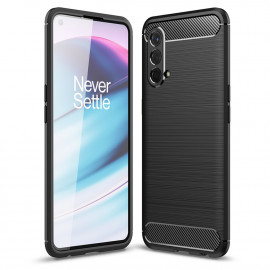 Armor Brushed TPU OnePlus Nord CE 5G Hoesje - Zwart