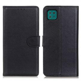 Book Case Samsung Galaxy A22 5G Hoesje - Zwart