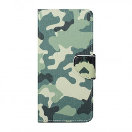 Book Case OnePlus Nord 2 Hoesje - Camouflage