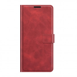 Book Case Deluxe OnePlus Nord 2 Hoesje - Rood