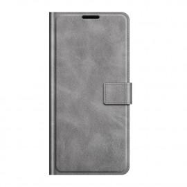 Book Case Deluxe OnePlus Nord 2 Hoesje - Grijs