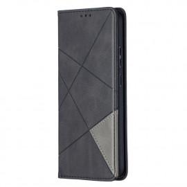 Geometric Book Case Nokia 5.4 Hoesje - Zwart