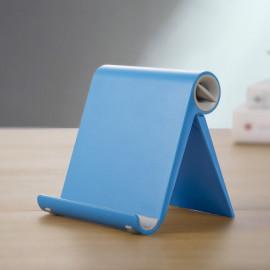 Verstelbare Standaard voor Smartphone en Tablet - Blauw