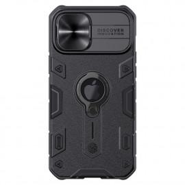 Nillkin Armor CamShield iPhone 12 Pro Max Hoesje - Zwart
