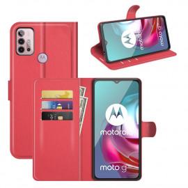 Book Case Motorola Moto G10 / G20 / G30 Hoesje - Rood