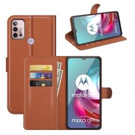 Book Case Motorola Moto G10 / G20 / G30 Hoesje - Bruin