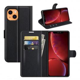 Book Case iPhone 13 Mini Hoesje - Zwart
