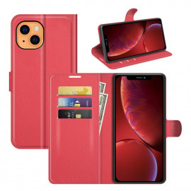 Book Case iPhone 13 Hoesje - Rood