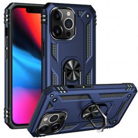 Ring Kickstand iPhone 13 Pro Hoesje - Blauw