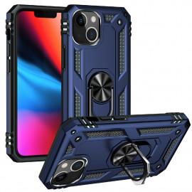 Ring Kickstand iPhone 13 Mini Hoesje - Blauw