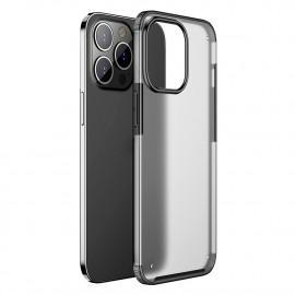 Snap-On Back Cover iPhone 13 Pro Hoesje - Zwart