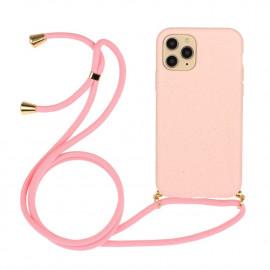TPU met Koord iPhone 13 Mini Hoesje - Pink