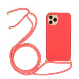 TPU met Koord iPhone 13 Hoesje - Rood