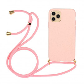 TPU met Koord iPhone 13 Hoesje - Pink