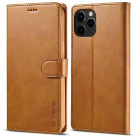 Luxe Book Case iPhone 13 Pro Max Hoesje - Bruin