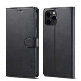 Luxe Book Case iPhone 13 Pro Hoesje - Zwart