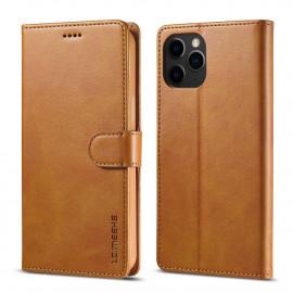 Luxe Book Case iPhone 13 Pro Hoesje - Bruin