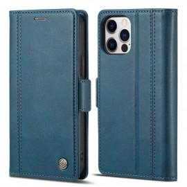 Classic Book Case iPhone 13 Pro Max Hoesje - Blauw