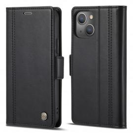 Classic Book Case iPhone 13 Mini Hoesje - Zwart