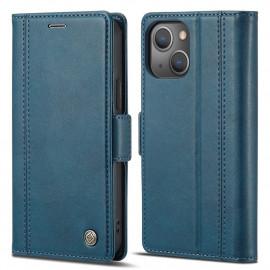 Classic Book Case iPhone 13 Mini Hoesje - Blauw