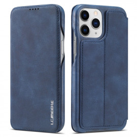 Retro Book Case iPhone 13 Pro Max Hoesje - Blauw