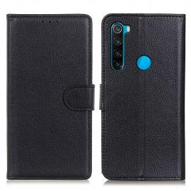 Book Case Xiaomi Redmi Note 8 (2021) Hoesje - Zwart
