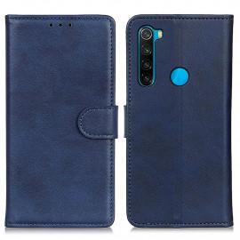 Luxe Book Case Xiaomi Redmi Note 8 (2021) Hoesje - Blauw