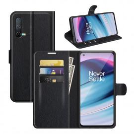 Book Case OnePlus Nord CE 5G Hoesje - Zwart