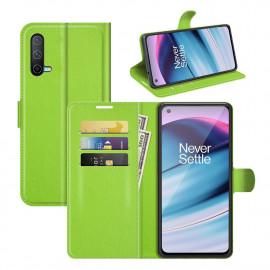 Book Case OnePlus Nord CE 5G Hoesje - Groen