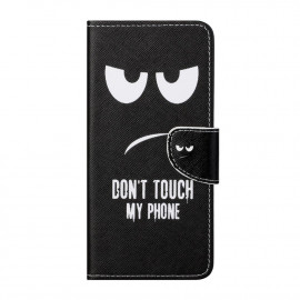 Book Case OnePlus Nord CE 5G Hoesje - Don't Touch