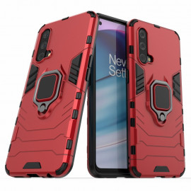 Ring Kickstand OnePlus Nord CE 5G Hoesje - Rood