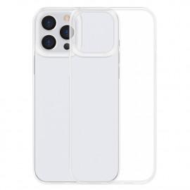 BASEUS Simple Soft TPU iPhone 13 Pro Max Hoesje - Transparant