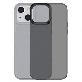 BASEUS Simple Soft TPU iPhone 13 Hoesje - Zwart