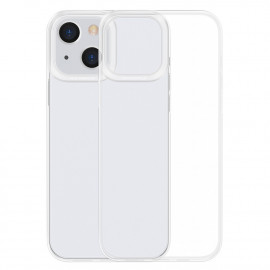 BASEUS Simple Soft TPU iPhone 13 Hoesje - Transparant