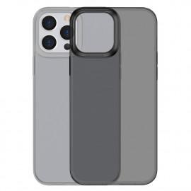BASEUS Simple Soft TPU iPhone 13 Pro Hoesje - Zwart