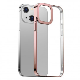 BASEUS Metallic iPhone 13 Hoesje - Rose Gold