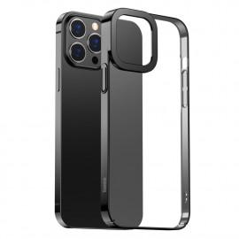 BASEUS Metallic iPhone 13 Pro Hoesje - Zwart